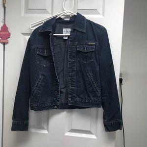 Calvin Klein dark blue denim jacket 💙